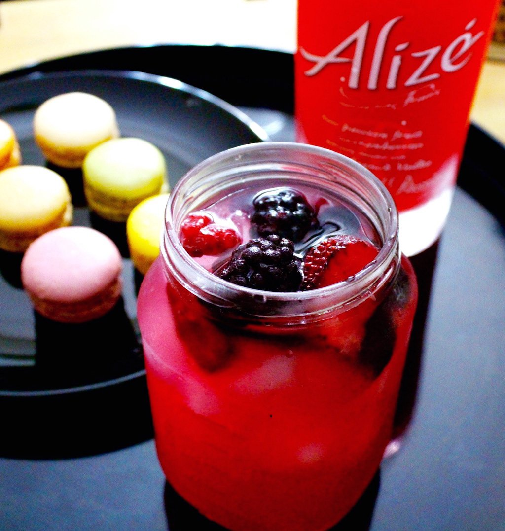 Alizé Red Passion Cocktail