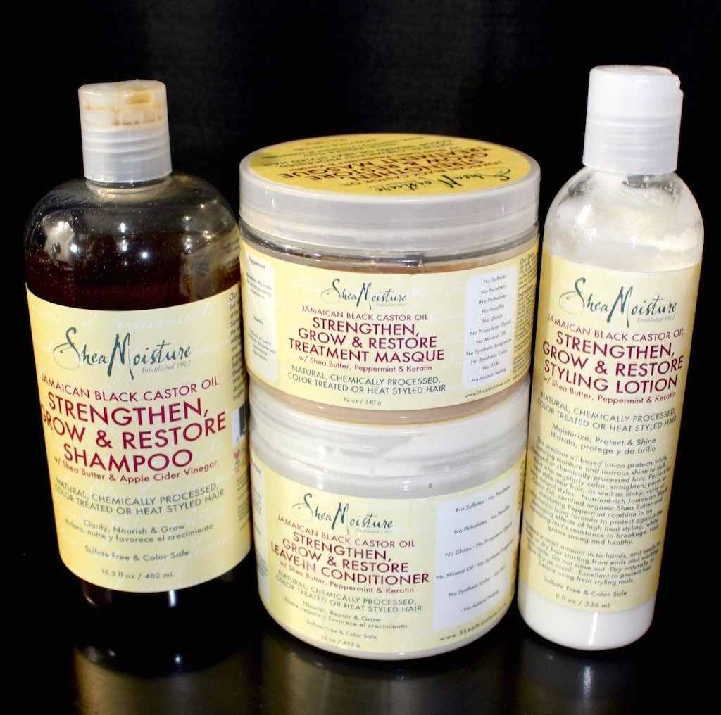 SheaMoisture Jamaican Black Castor Oil Line Review