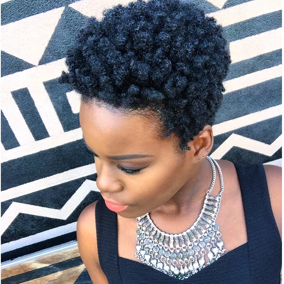 accessorize your TWA with a statement necklace