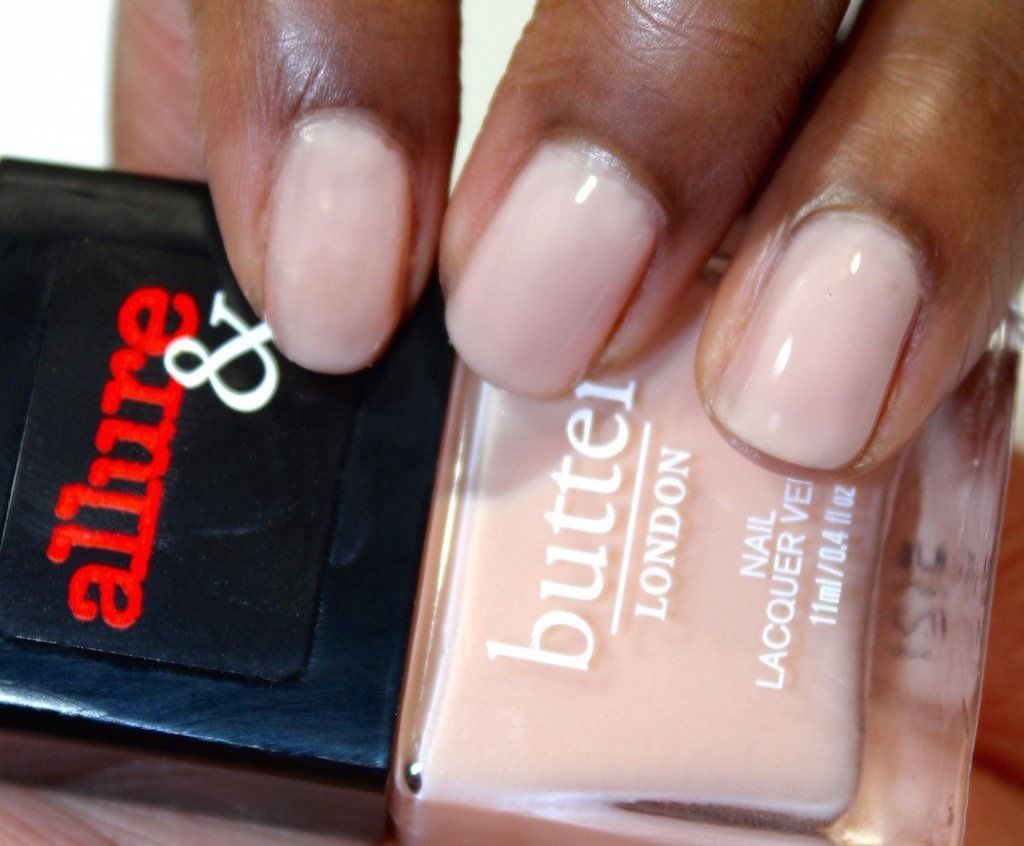 Allure & Butter London Arm Candy Collection Nude Stilettos