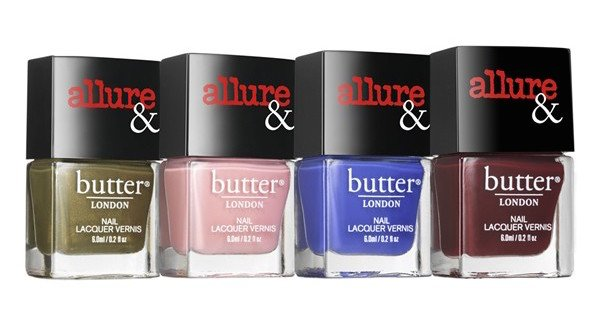 Allure & Butter London Fashion Lacquer Collection