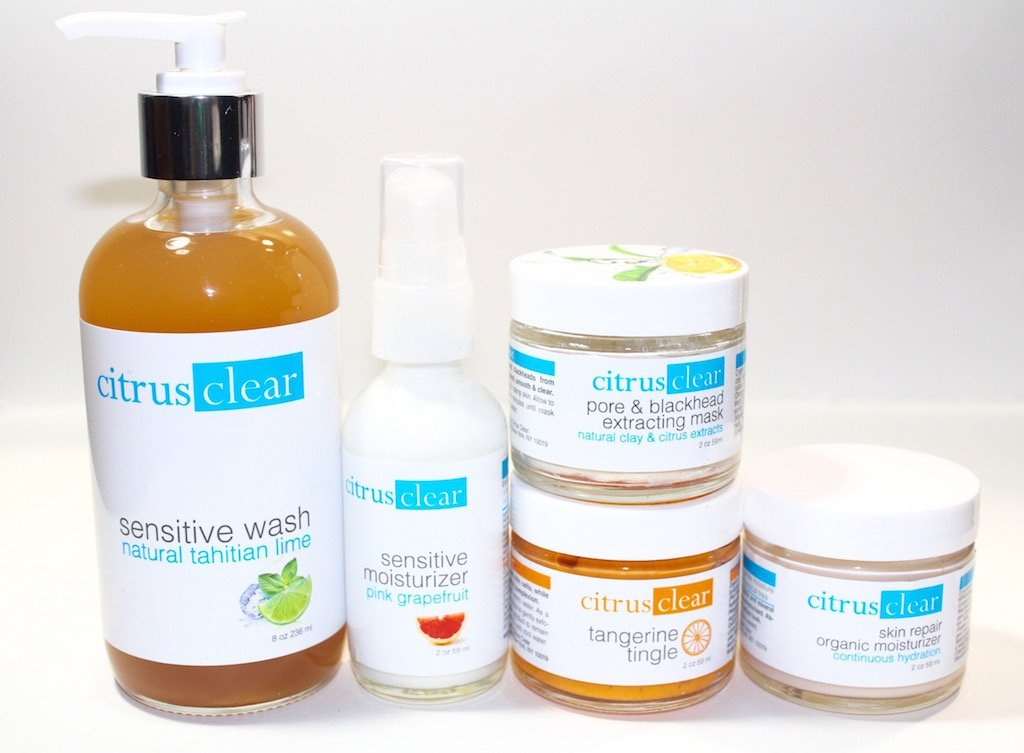 citrus clear sensitive skin