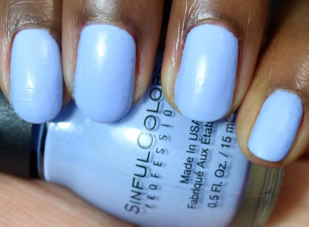 Sinful Colors Class Act A-Crush Swatch