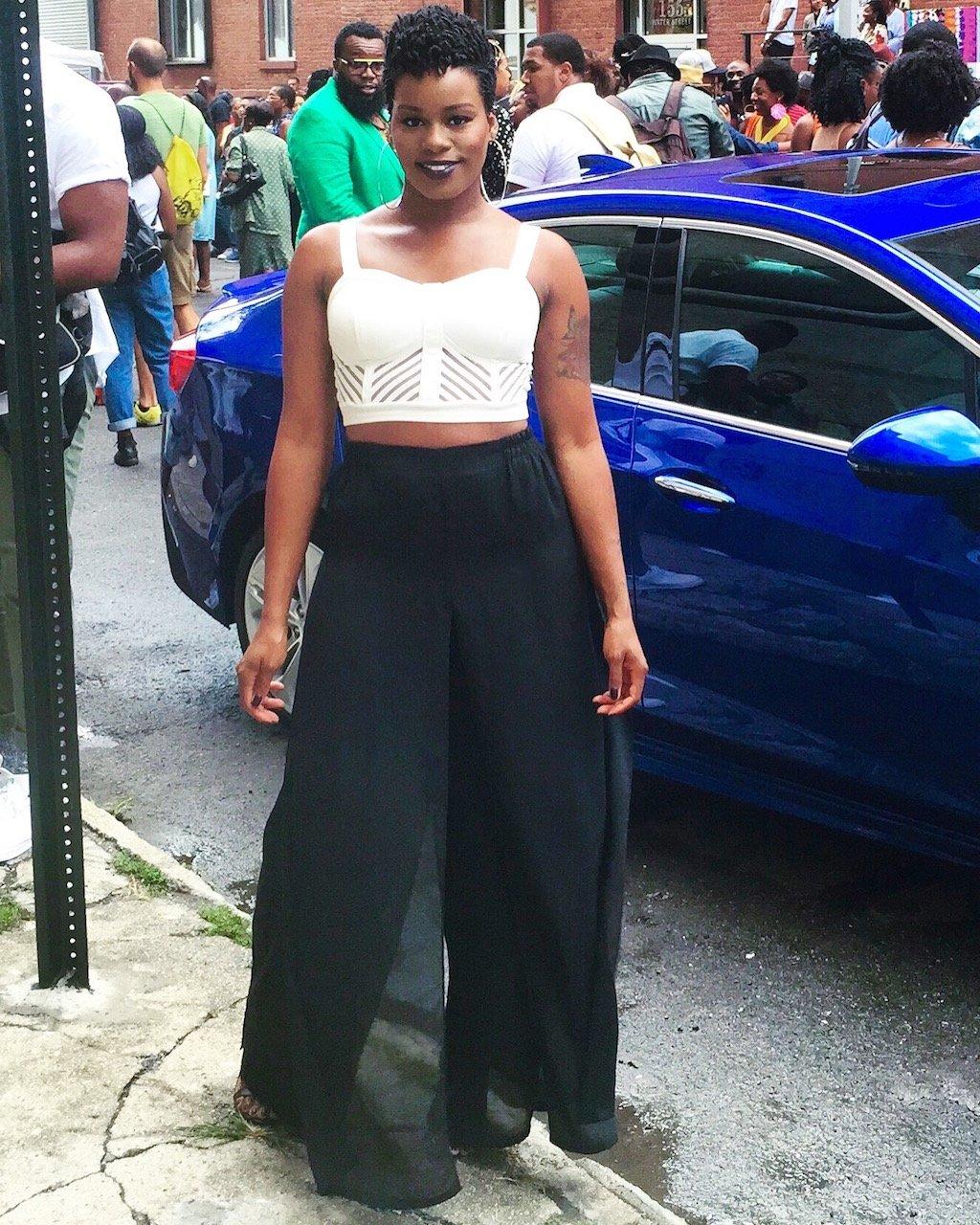 Essence Street Style Block Party 2015