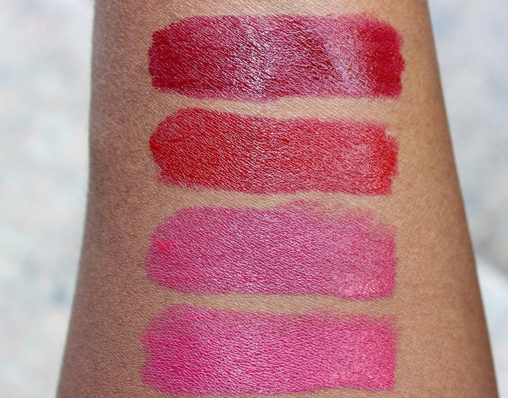 Laura Geller Iconic Baked Sculpting Lipsticks Swatches