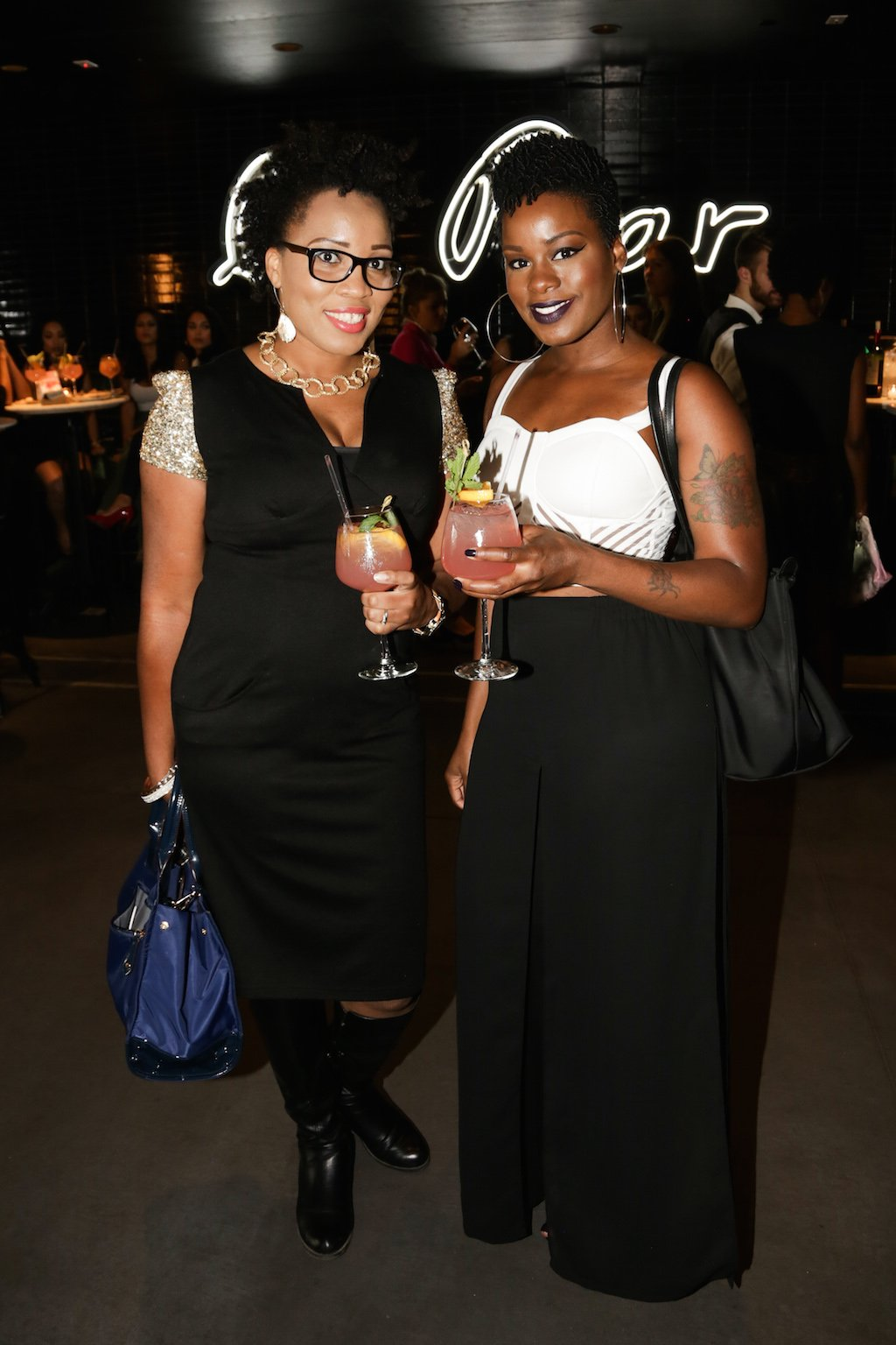 Erica Moore, Nicole Williams Mode NYFW Party Le District