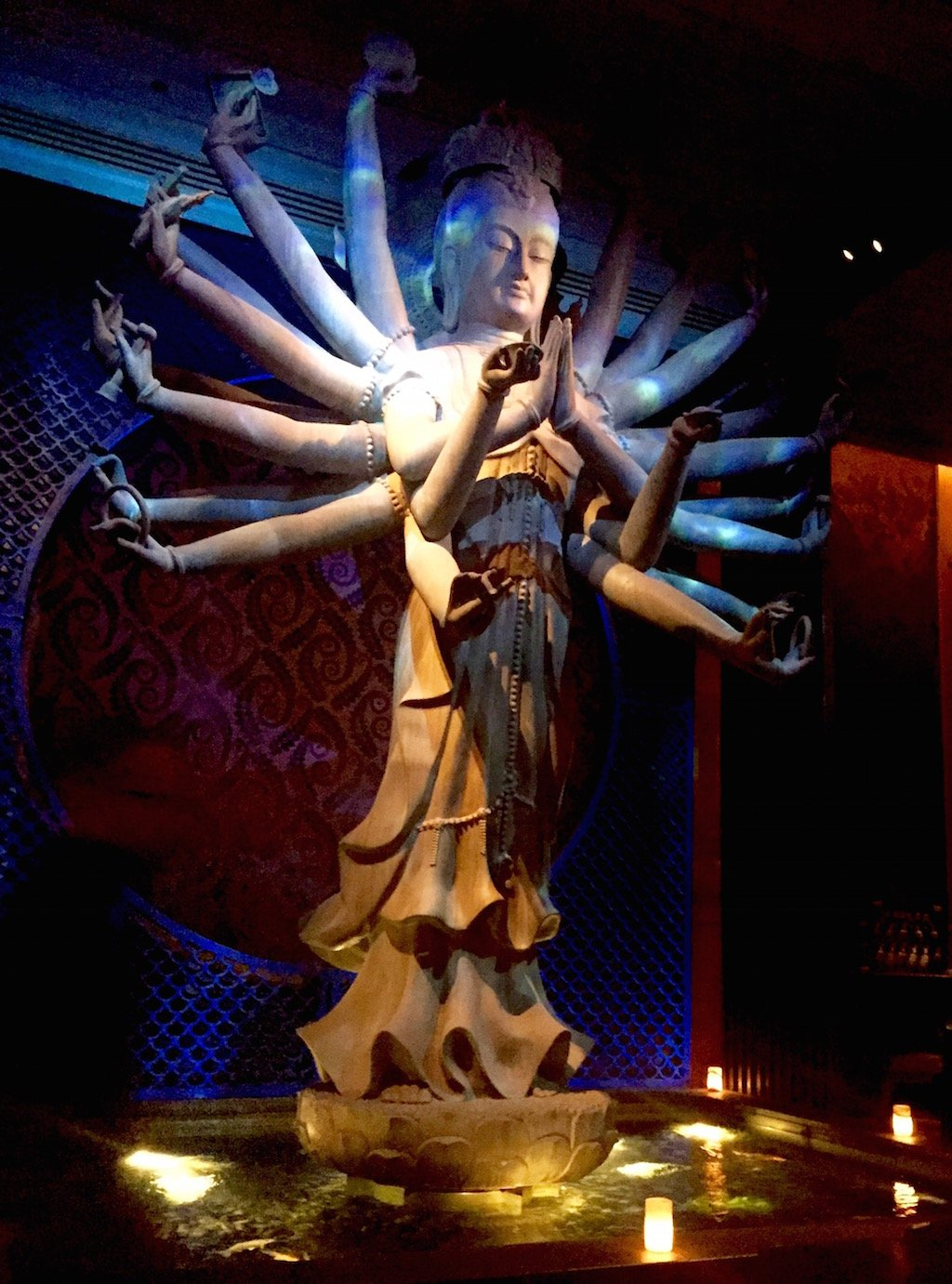 TAO Downtown NYC Buddha Statue