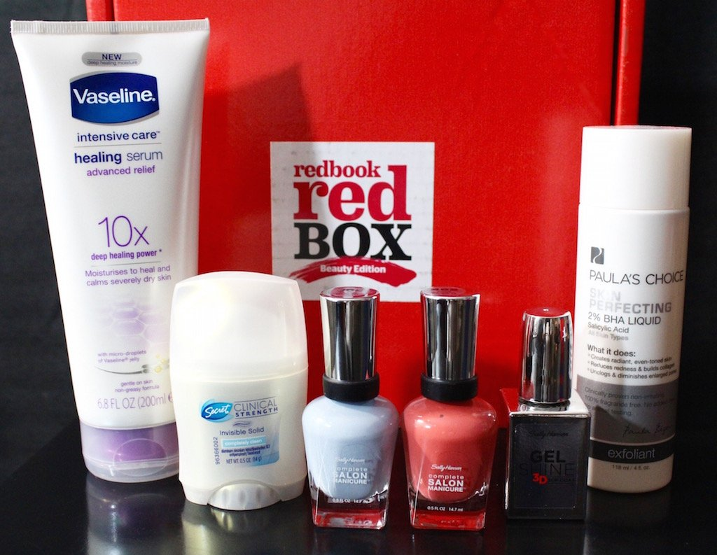 REDBOOK Fall 2015 Blogger Beauty Red Box