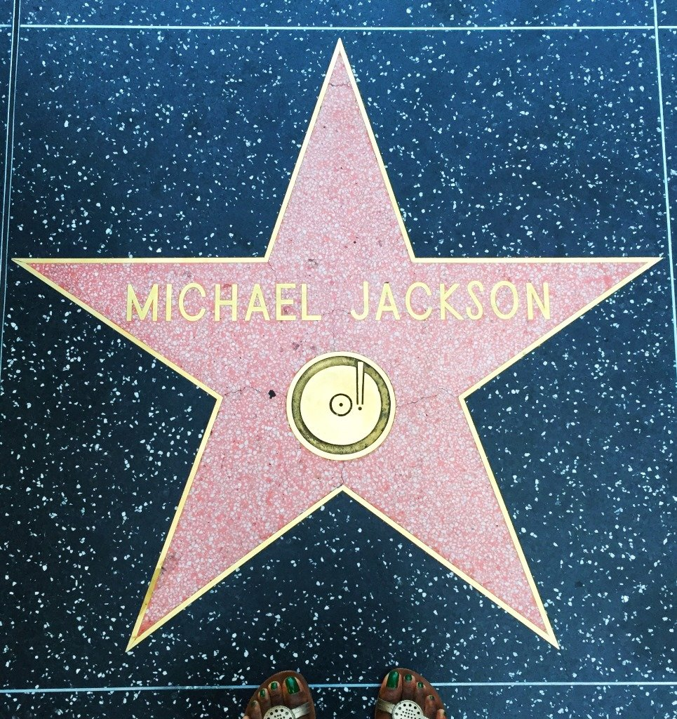 Hollywood Walk of Fame Michael Jackson