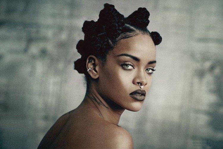Rihanna Bantu Knots