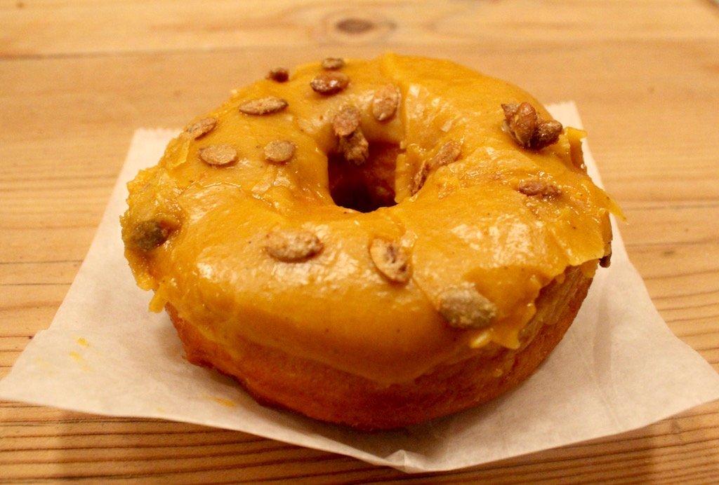 Dough Pumpkin Doughnut