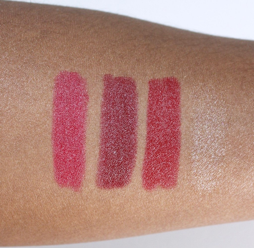 Paula's Choice Berry and Bright Lip Collection Swatches