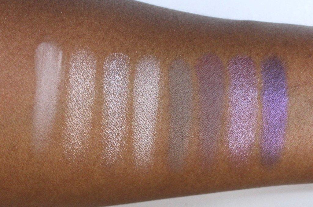 Makeup Revolution Affirmation Eyeshadow Palette Swatches