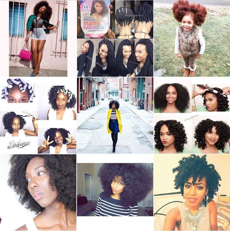 Natural Hair Instagram Team Natural