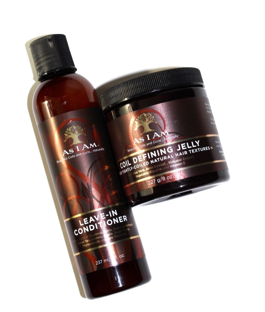 As I Am Coil Defining Jelly and Leave-In Conditioner