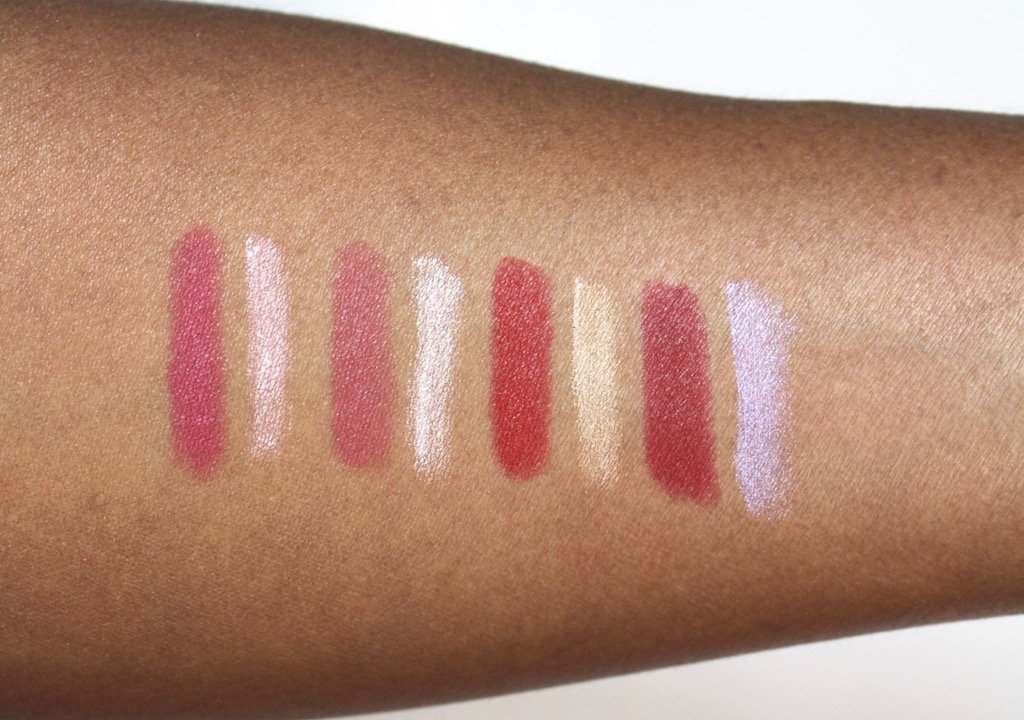 Make Up For Eve Pro Sculpting Lip Swatches
