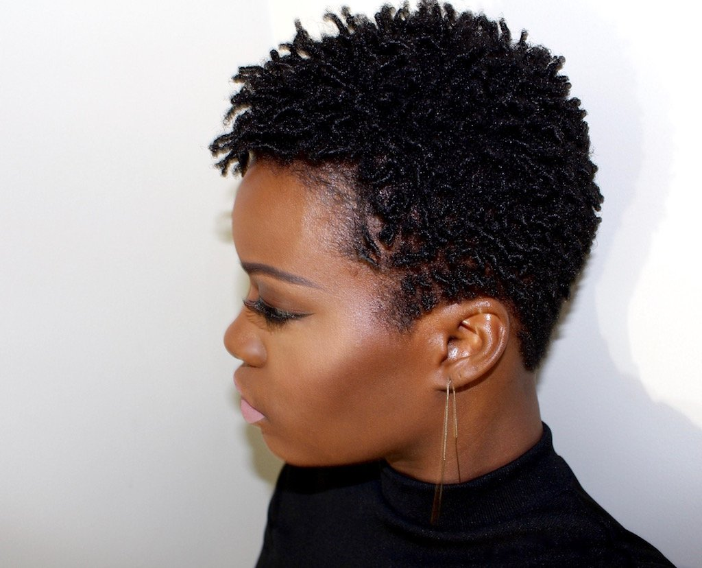 Finger Coil Out Natural Hair