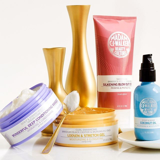 Madam C.J. Walker Beauty Culture Haircare Collection