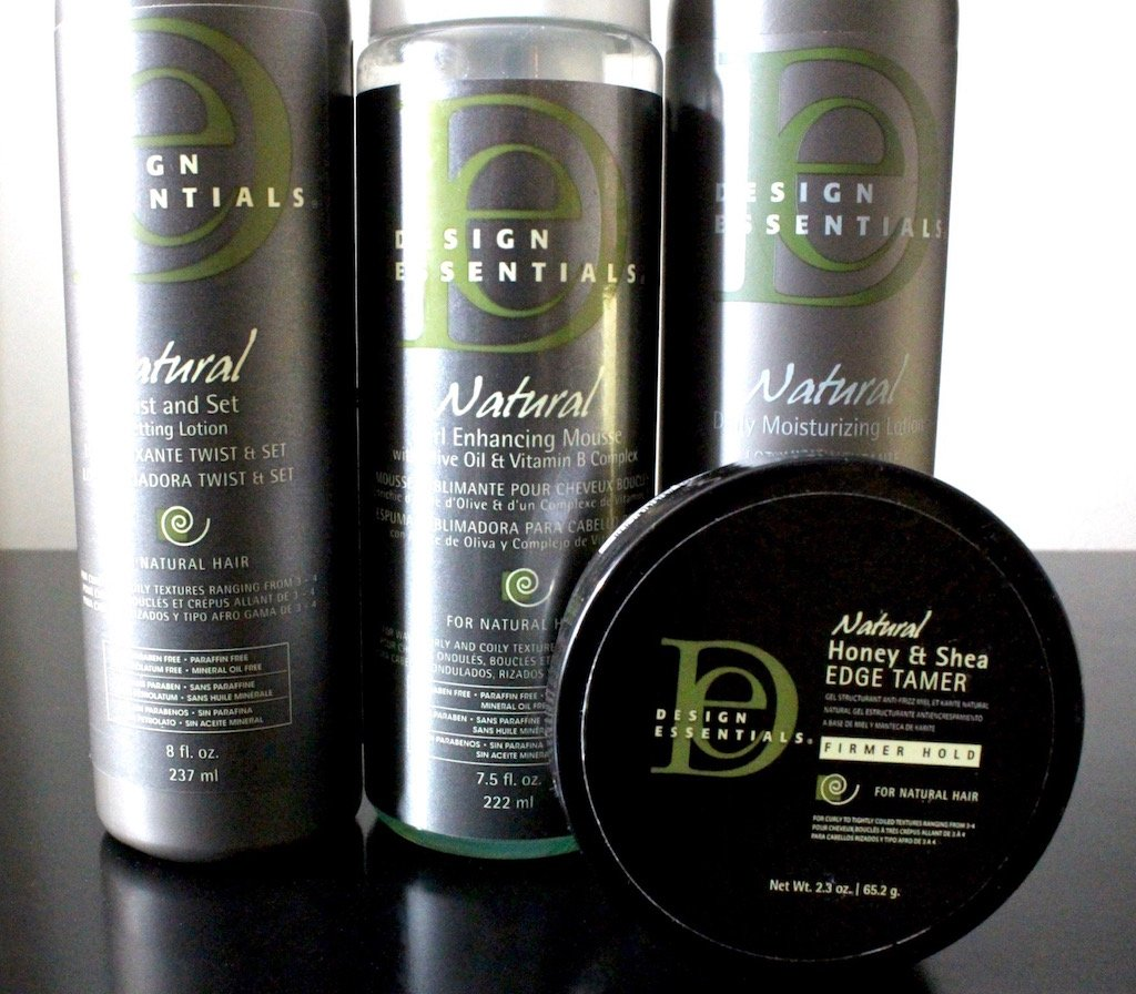 Design Essentials Natural Curl Care Collection