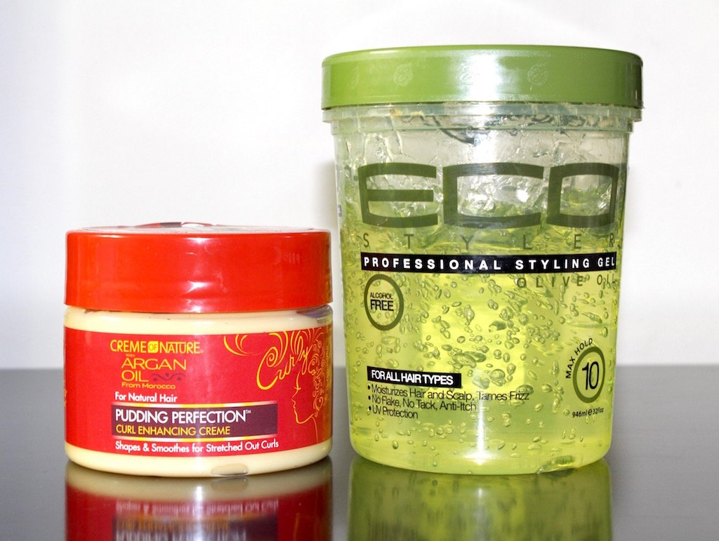 Wash and Go Eco Styler Gel