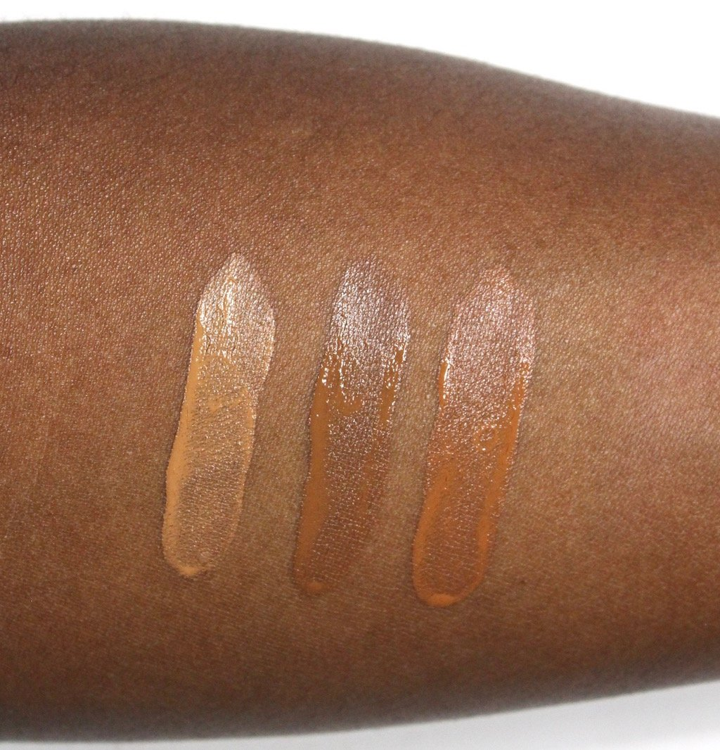 Make Up For Ever Water Blend Foundation Amber, Cognac, Cinnamon