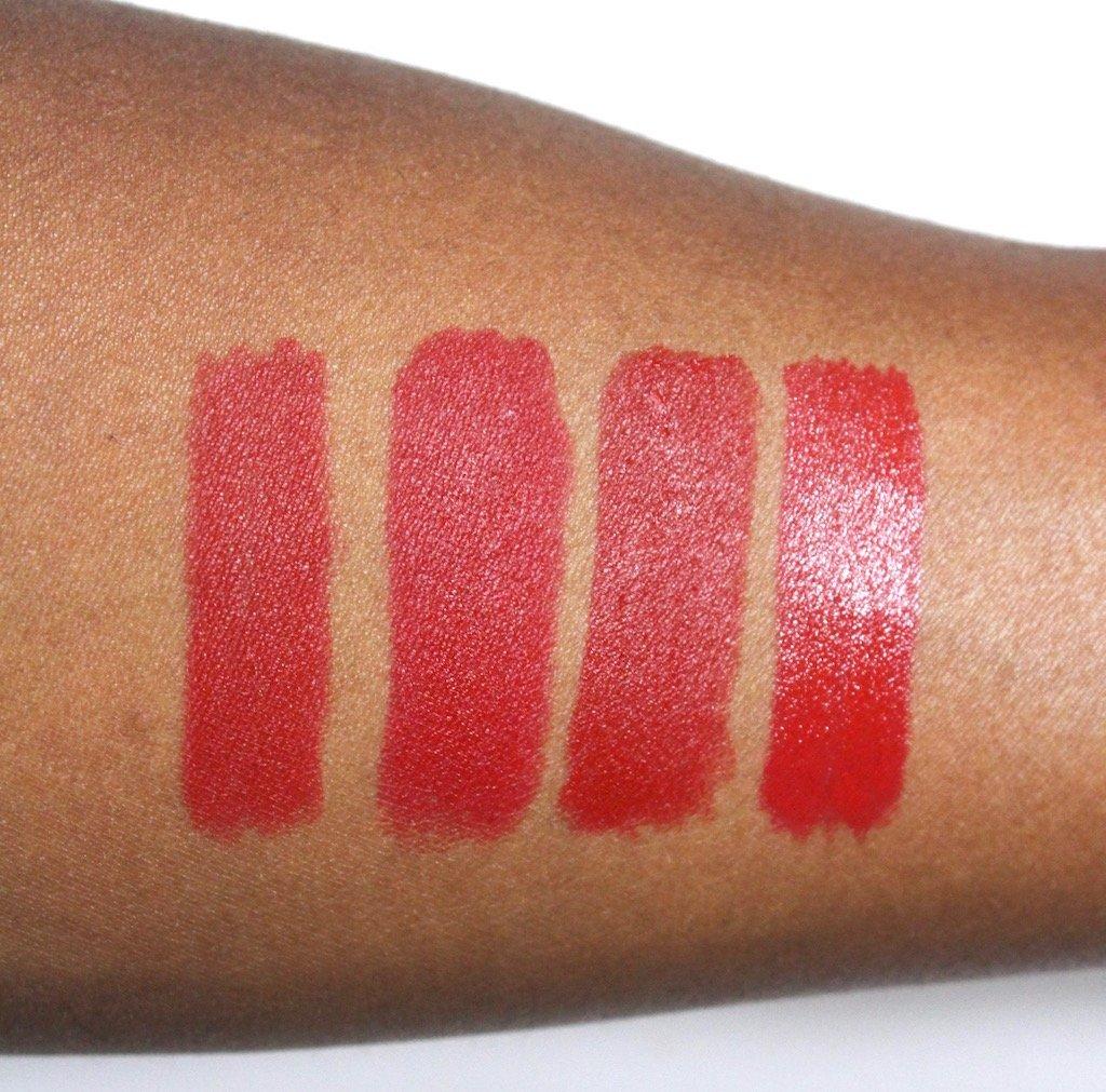 red lipstick for dark skin