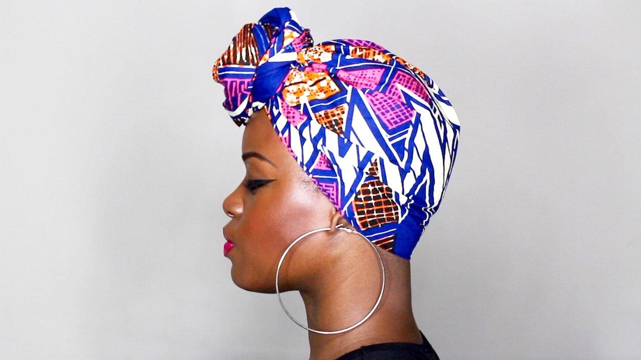 Quick & Easy Headwrap Tutorial