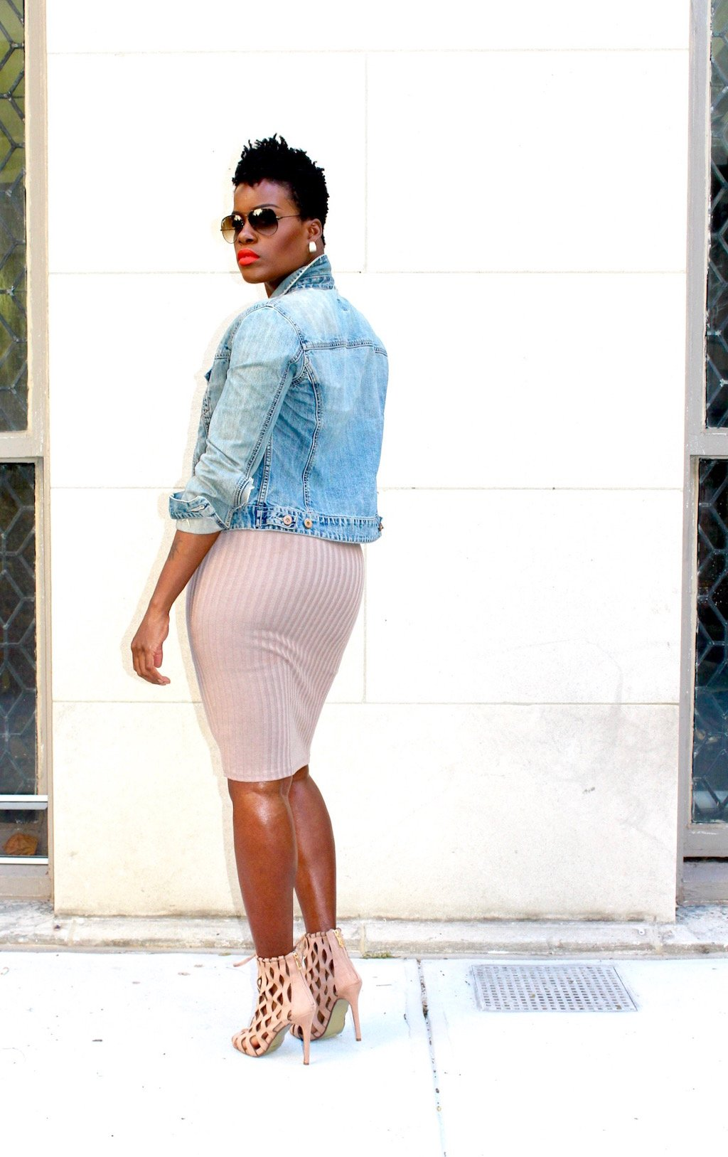 How To Look Chic in a Denim Jacket