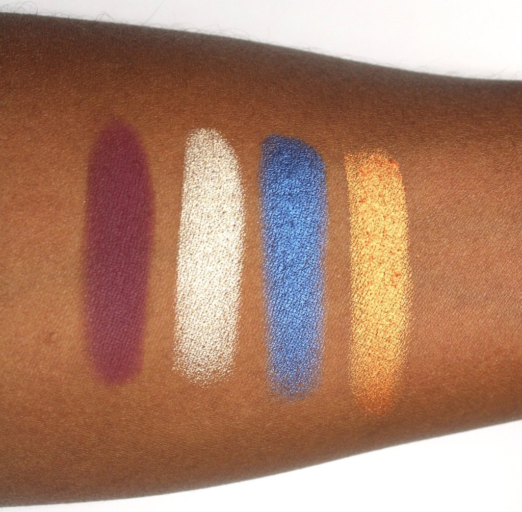 Juvia's Place Nubian 2 Palette Swatches Row 2