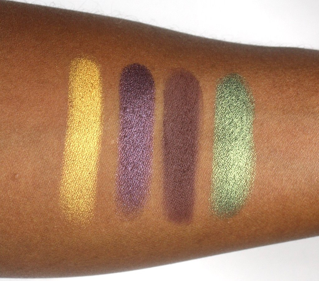 Juvia's Place Nubian 2 Palette Swatches Row 3