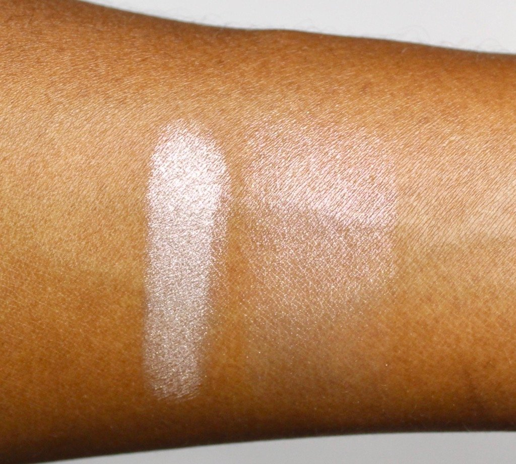 Make Up For Ever Pro Light Fusion Highlighter Golden Pink Swatch
