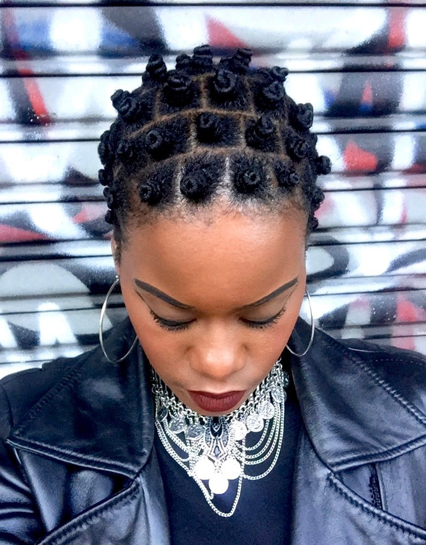 Bantu Knots Tapered TWA