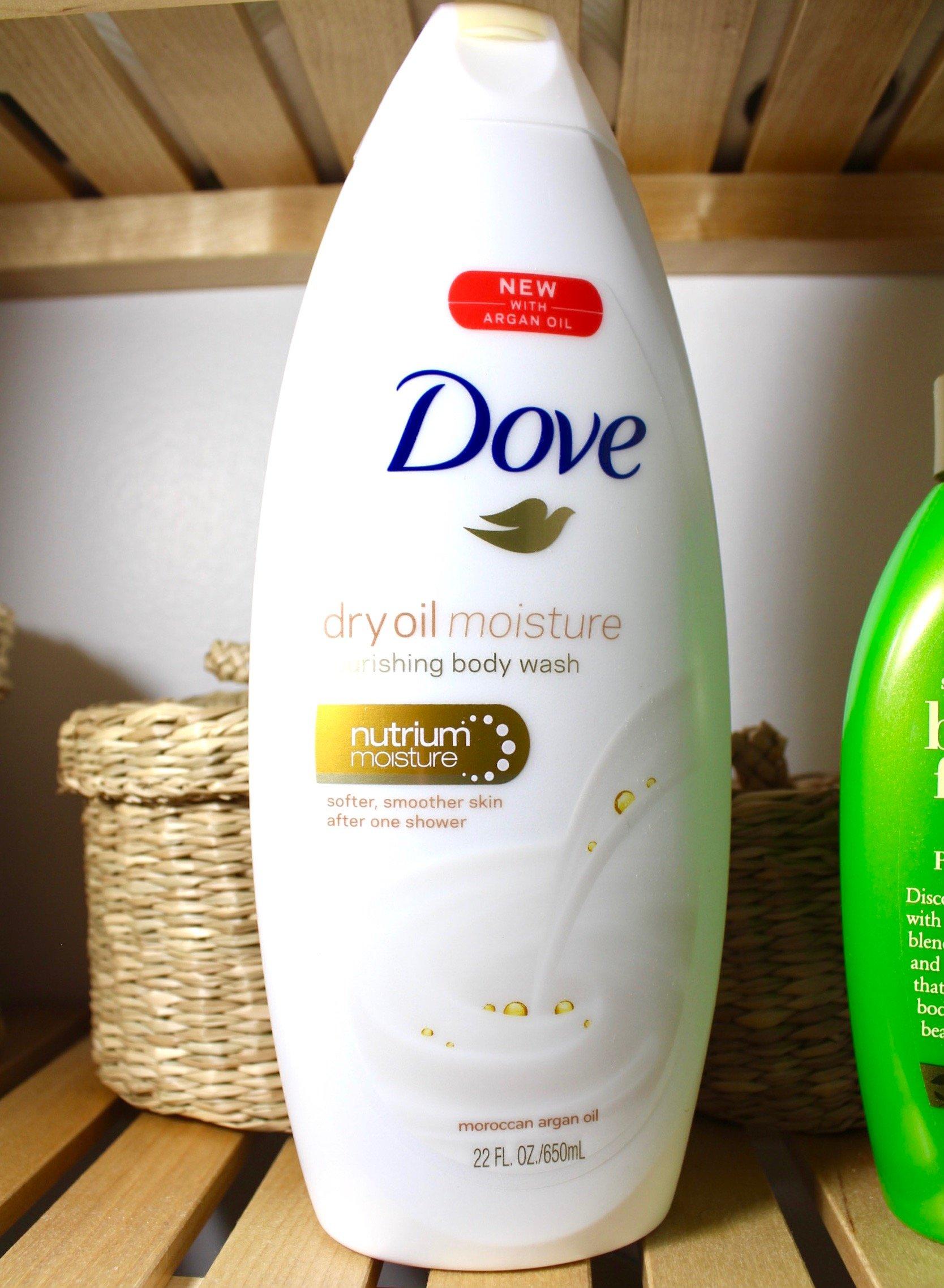 Dove Dry Oil Body Wash
