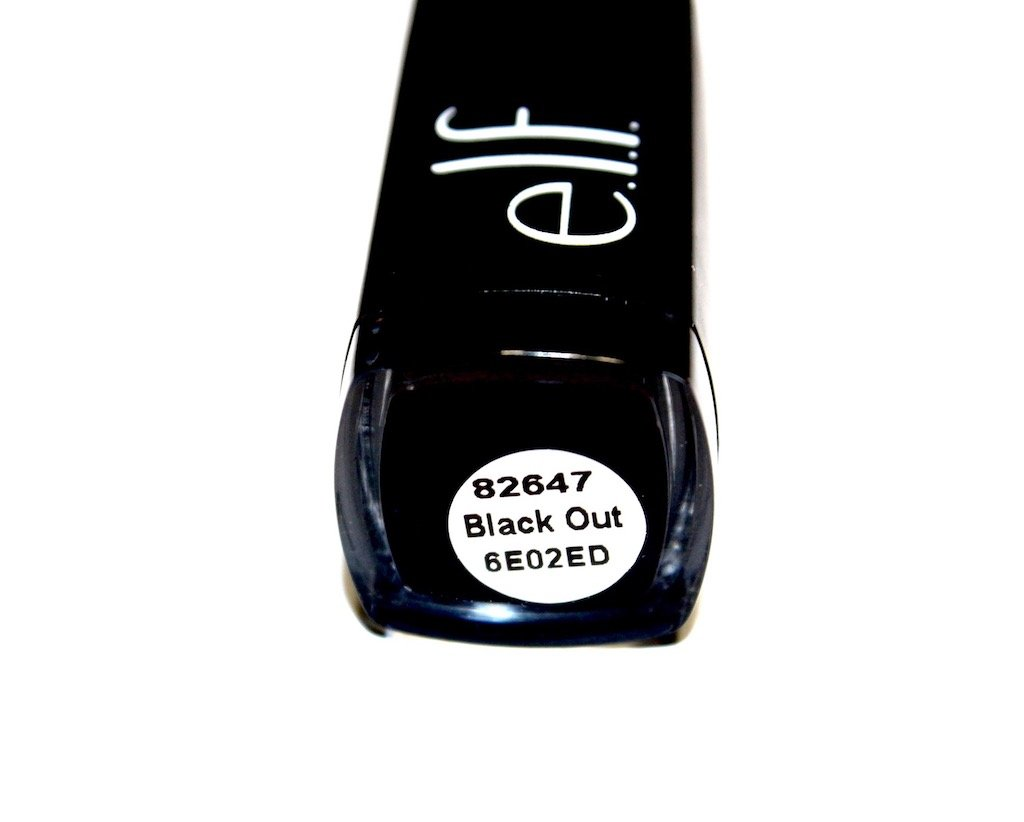 e.l.f. black out moisturizing lipstick