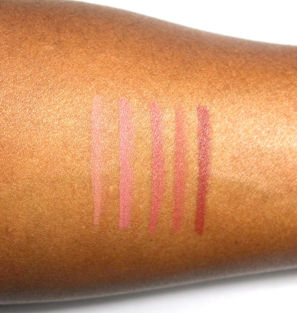 Make Up For Ever High Precision Lip Pencil Nudes Swatches