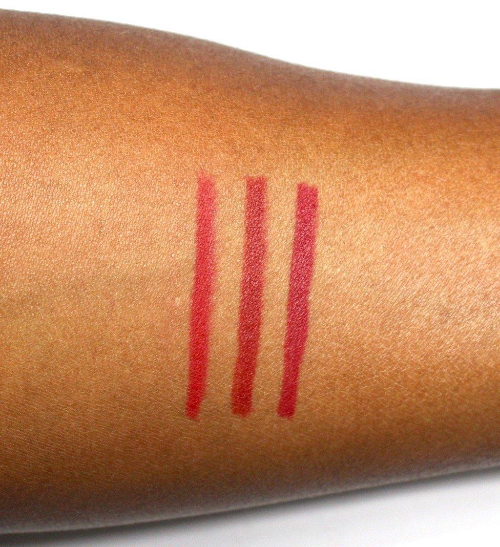 Make Up For Ever High Precision Lip Pencil Reds Swatches