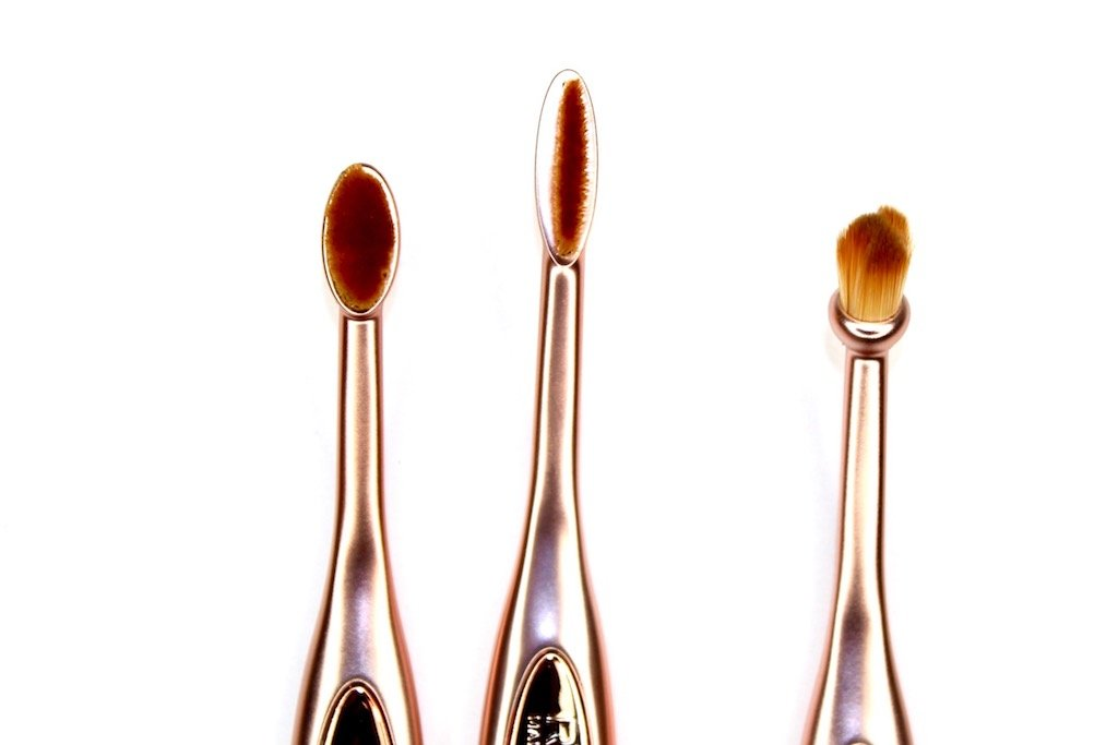 Makeup Revolution Precision Eye Oval Brushes