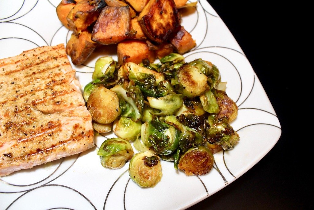 Sriracha Maple Brussels Sprouts