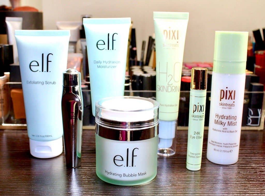 Winter Drugstore Skincare from e.l.f. and Pixi