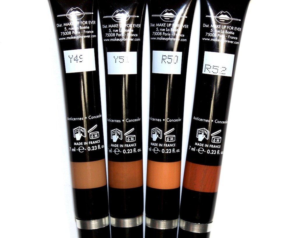 Make Up For Ever Pro Conceal HD Concealer Y49, Y51, R50, R52