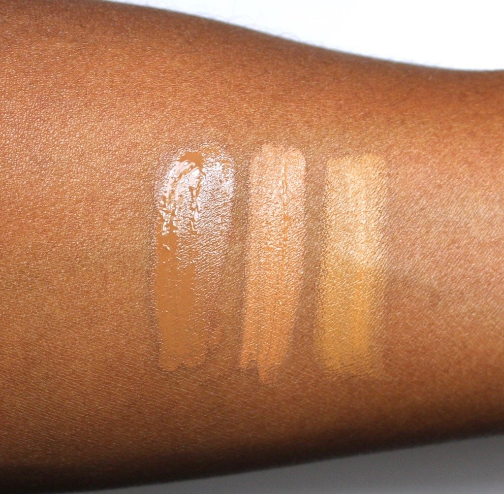 Make Up For Ever Ultra HD Concealer Amber vs L.A. Girl Pro Conceal HD Toffee & Fawn