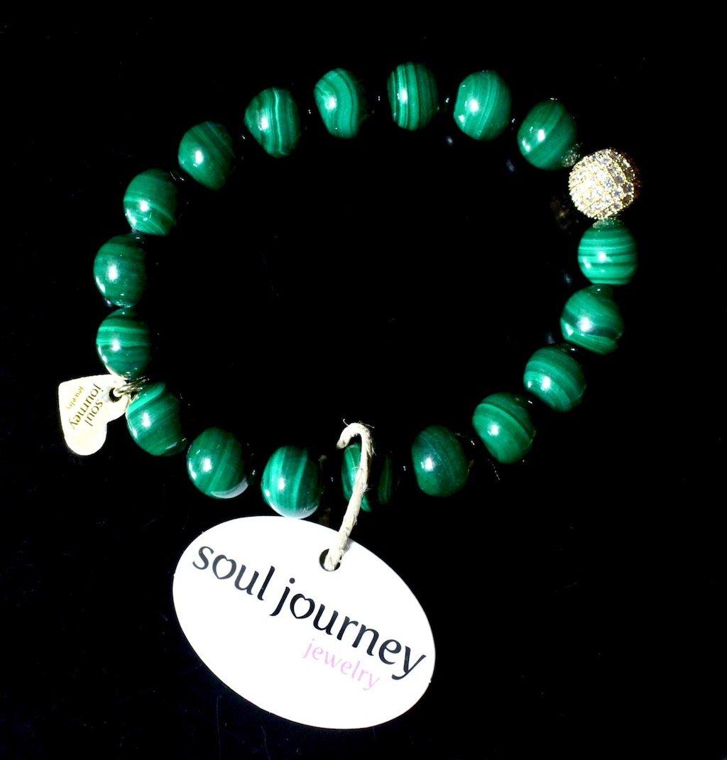 neiman marcus last call soul journey jewelry malachite bracelet