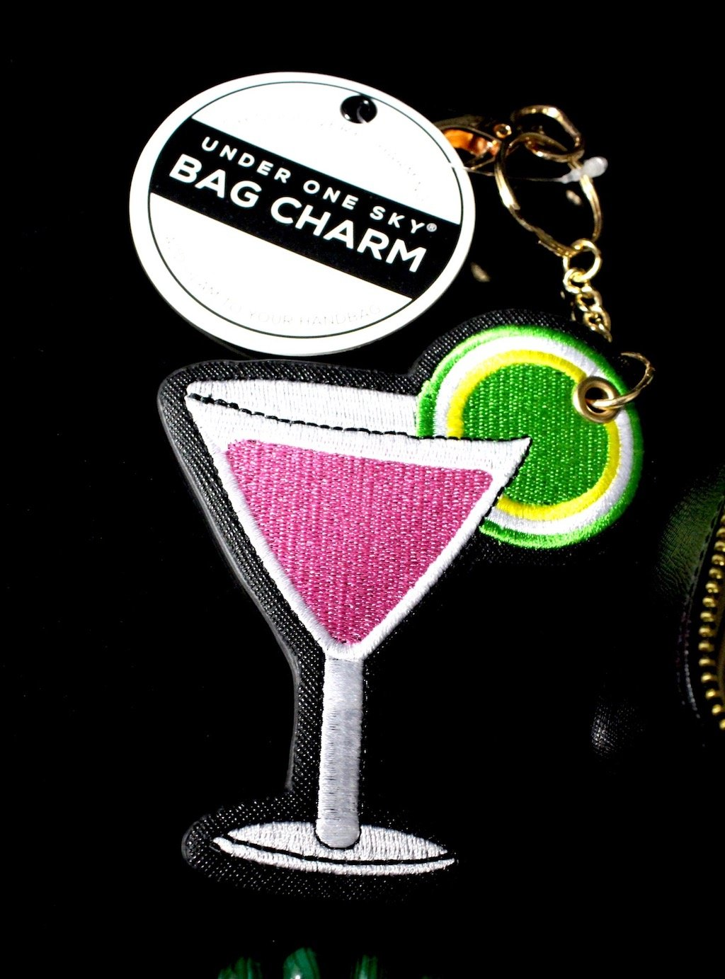 neiman marcus last call under 1 sky cosmo bag charm