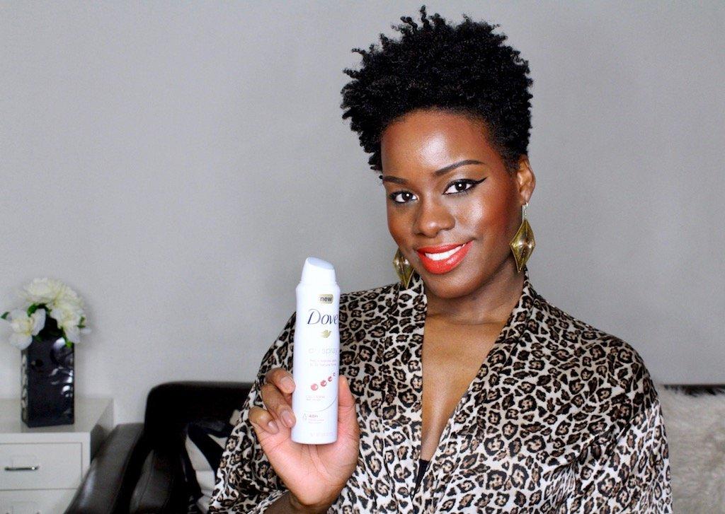 Dove Dry Spray Antiperspirant Clear Tone