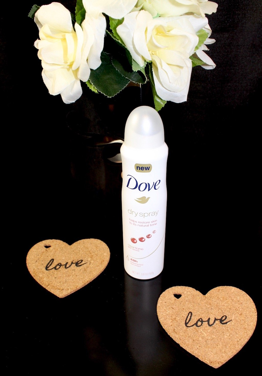 Dove Dry Spray Antiperspirant Clear Tone
