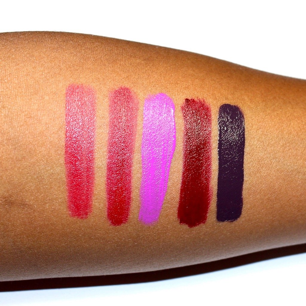 Make Up For Ever artist Acrylip Lip Paint Swathes