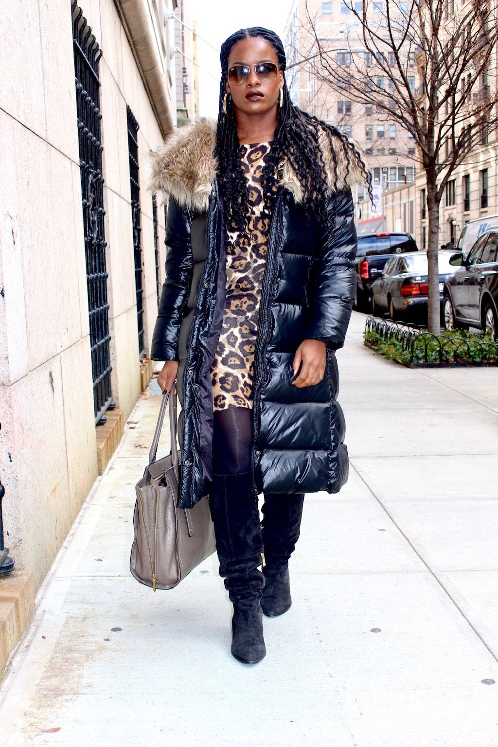 Stylish Down Coat Outfit