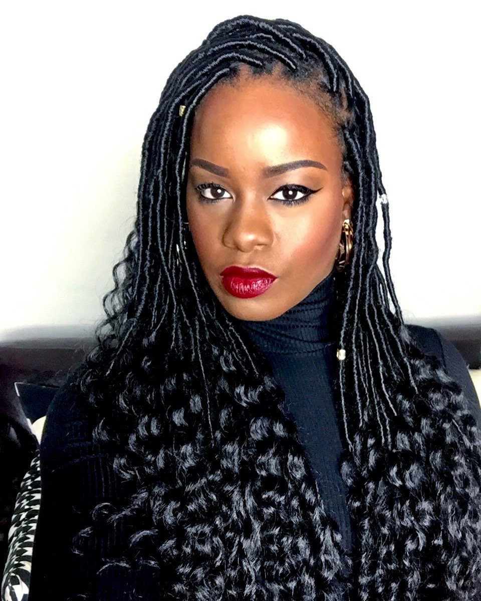 Slay This Winter With Easy DIY Goddess Locs (Tutorial) - Easy And Quick Hairstyles