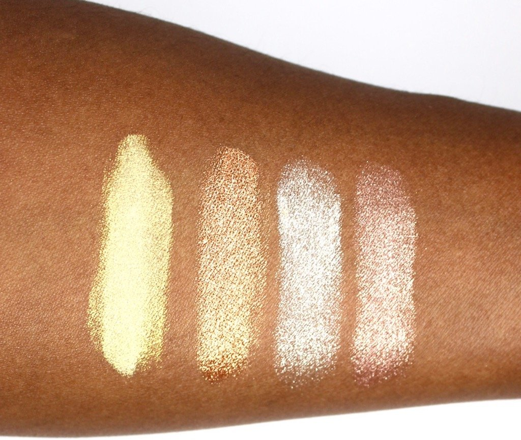 Make Up For Ever Star Lit Powder Swatches