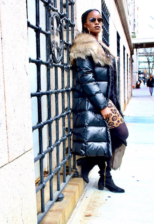 Snowman New York Down Coat